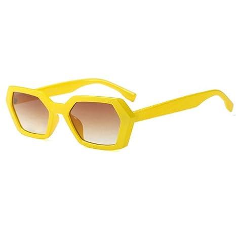 Humpie Dumpie Gafas de Sol (Amarillo Hexágono Amarillas ...