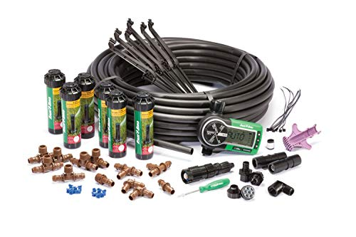 Rain Bird 32ETI Easy to Install In-Ground Automatic Sprinkler System Kit (Renewed) ()