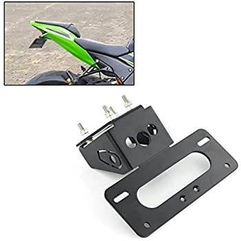 Xitomer ZX10R Tail Tidy/Fender Eliminator /License Plate Holder for KAWASAKI ZX-10R ZX-10RR 2016 2017 2018 2019 2020, Compatible with OEM/ Stock Blinker And Aftermarket Turn Signal