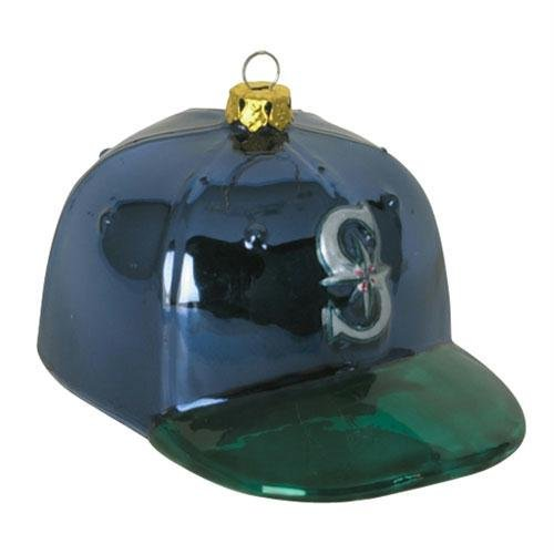MLB Baseball Cap Ornament MLB Team: Seattle Mariners - Seattle Mariners Hanging