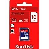 SanDisk 16GB Class 4 SDHC Flash Memory Card - 2 Pack SDSDB2L-016G-B35 Retail Package