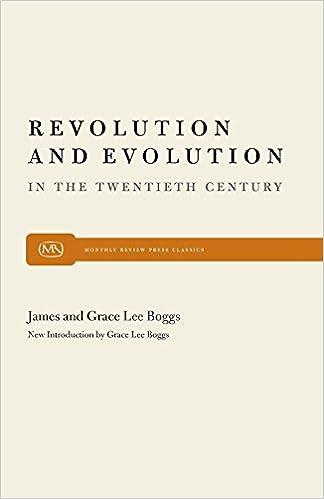 Revolution and evolution in the twentieth century grace lee boggs revolution and evolution in the twentieth century grace lee boggs 9780853453536 amazon books fandeluxe Images