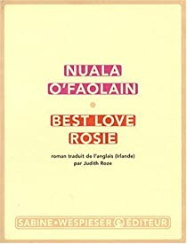 Best love Rosie par Nuala O'Faolain