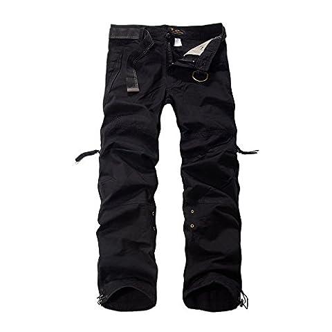 Mokor Art Men's Cargo Pants Black 36