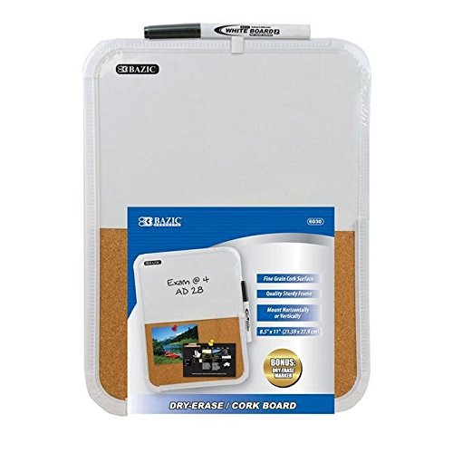 Cork Board Bulletin Board, 12 Pack Of White Dry Erase Cork Boards For Office