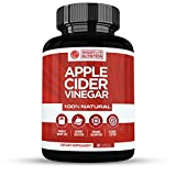 100% Natural Apple Cider Vinegar Pills – Powerful 500 mg Pure ACV Capsules with Cayenne Pepper for Healthy Diet & Weight Loss, Body Detox & Cleanse for Women & Men – Vegan, Non-GMO, Gluten Free