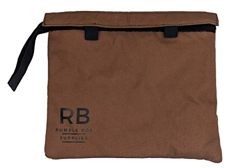 - Rumble Box Odor Eliminator Smell-Proof Bag: Keep Odors Contained - Smell Proof Stash Container for Herb and Accessories - Fits Easily in Purse or Backpack - Grinder Included - Mesh Pouch Bags (Brown)