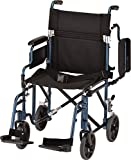 """Best Transport Chairs - NOVA Medical Products 19"""" Transport/Wheelchair with Detachable Arms Review"""