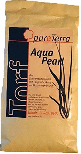 aquapearl Negro turba gránulos 1 litros Bolsa de cartón: Amazon.es: Productos para mascotas
