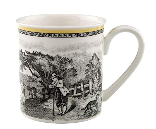 (Audun Ferme Coffee Mug by Villeroy & Boch - Premium Porcelain - Made in Germany - Dishwasher and Microwave Safe - 10 Ounce Capacity )