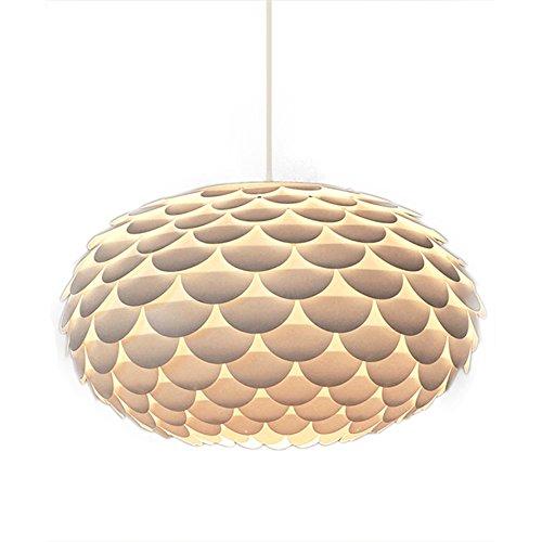 %Lampe Moderner Designer-weißer Gürteltier- / Artischocken-Decken-hängender Licht-Schatten (größe : 60cm*34cm) SX-CHENG
