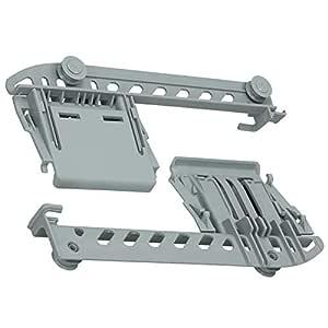 Spares2go - Cesta superior para lavavajillas Whirlpool (2 unidades ...