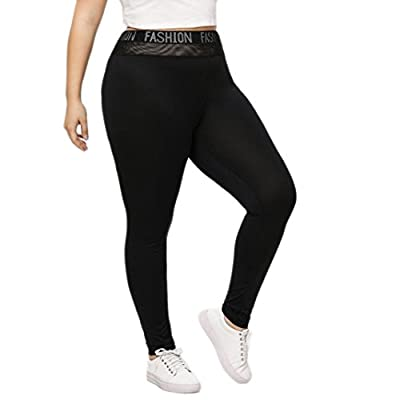 Pervobs Women Pants, Clearance! Plus Size Womens Skinny Stretch Leggings Yoga Sport Gym Casual Pants Trousers from Pervobs