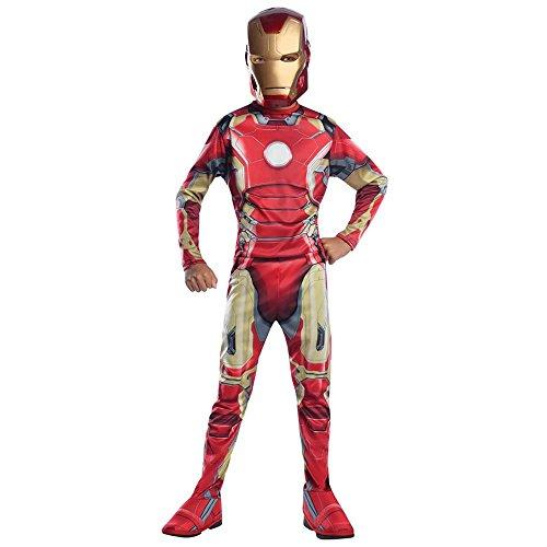 [Rubie's Costume Captain America: Civil War Value Iron Man Costume, Medium] (Ironman Costume)