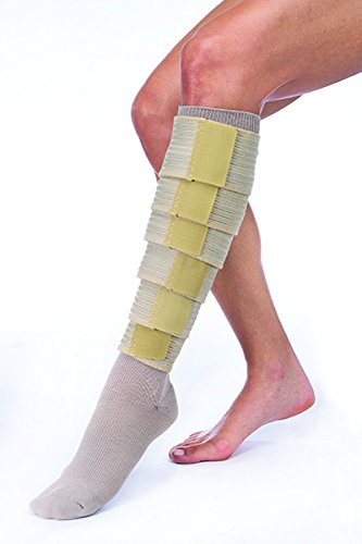 FarrowWrap Classic Legpiece, Tan with compression sock, BSN Jobst FarrowMed - And Farrow All