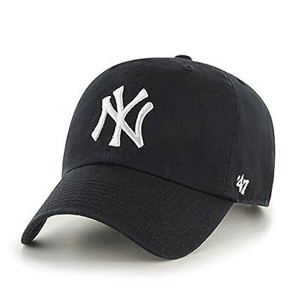 2e3022ce '47 Clean up New York Yankees Mens Cap Black