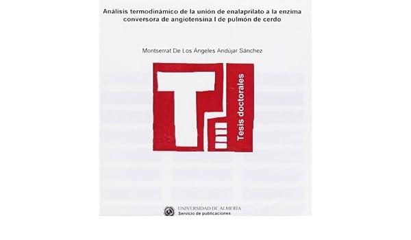 Análisis termodinámico de la unión de enalaprilato a la ...