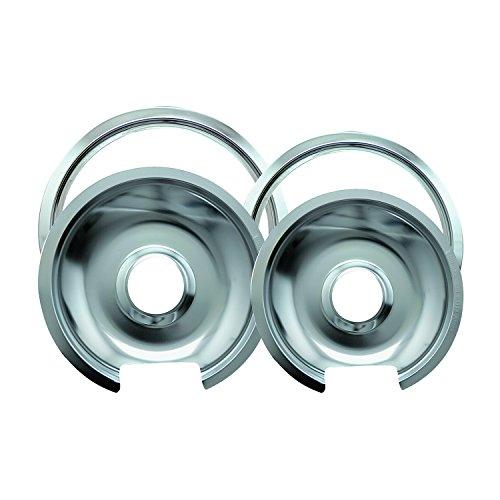 """Range Kleen Drip Pan & Trim Ring Chrome 1 Small/6"""" Pan & Rin"""