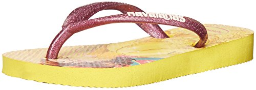 Havaianas Kids Slim Princess Sandal Flip Flops (Toddler/Little Kid), Light Yellow, 33-34 BR/3-4 M US Little Kid - Broadway 3 Light