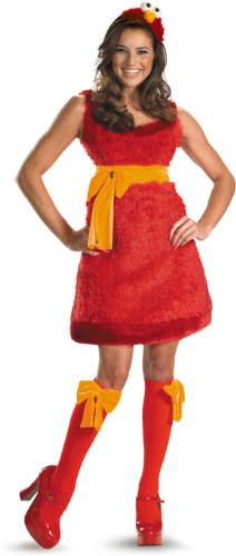 Horror Film Characters Costumes (Sassy Elmo Small)