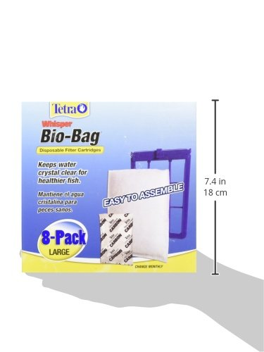 046798261636 - Tetra 26163 Whisper Bio-Bag Cartridge, Unassembled, Large, 8-Pack carousel main 1