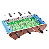 UHBGT Foosball Tables, Upgrade Portable Mini Table Football Soccer Game Table Game Room Football Table Sports for Adults and Kids (6 Sticks)