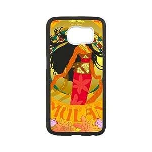 Generic for Samsung Galaxy S6 Cell Phone Case Black Mulan Custom 2090