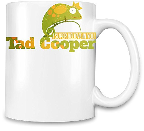 Drip Collage (I Super Believe In You Tad Cooper Unique Coffee Mug | 11Oz Ceramic Cup| The Best Way To Surprise Everyone On Your Special Day| Custom Mugs By Bang Bangin)