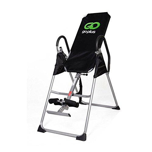 Inversion Table Deluxe Fitness Chiropractic Table Back Pain Relief Exercise New by Unknown