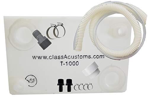 (Class A Customs 10 Gallon Water Tank & Plumbing Kit T-1000-BPK)
