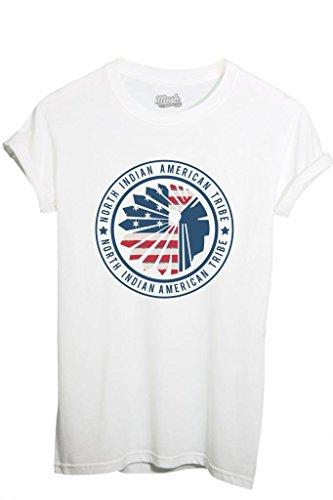 T-Shirt INDIANI AMERICA TRIBU - MUSH by MUSH Dress Your Style