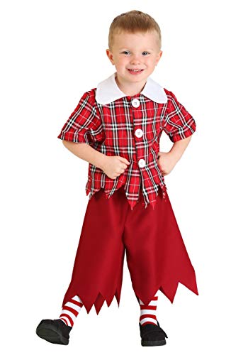 Little Boys' Red Munchkin Costume 4T]()
