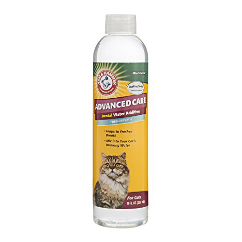 Arm & Hammer Advanced Pet Care Dental Water Additive for Cats – Odorless & Flavorless