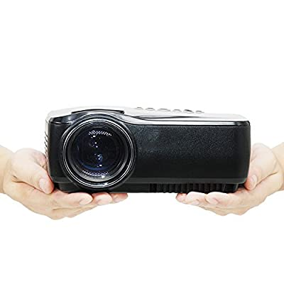 Projector, 1200 Lumens LED Video Projector,Support 1080P With HDMI, Multimedia Overhead TV Home theater,HD Movie LCD Digital Projectors