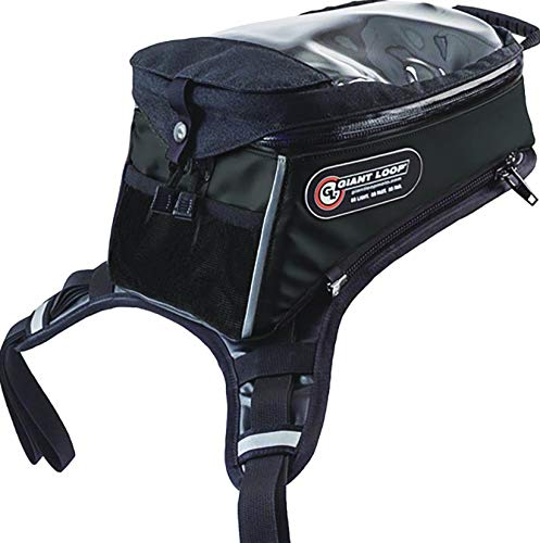 Giant LoopディアブロタンクバッグPro Motorcycleモーターサイクルバッグ One Size ブラック 804897 One Size  B07DLJKF25
