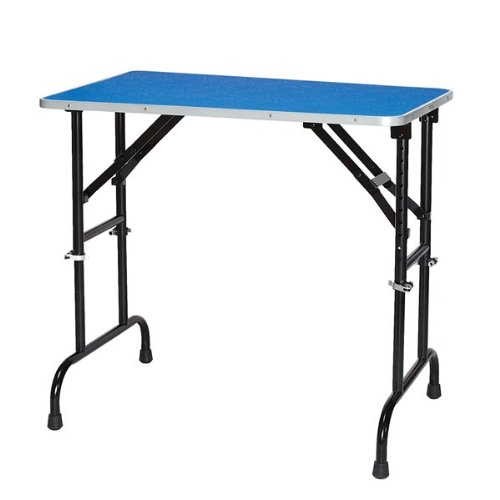 Master Equipment Adjustable Height Grooming Table for Pets, 36 by 24-Inch, Blue by Master Equipment