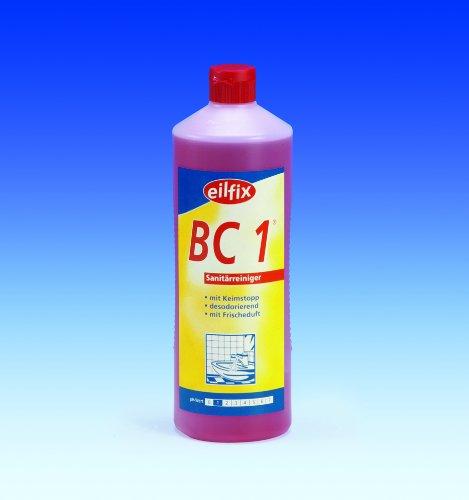 1000 ml Sanitärreiniger eilfix BC 1 Reiniger mit Keimstopper sehr wirksame Anwendung
