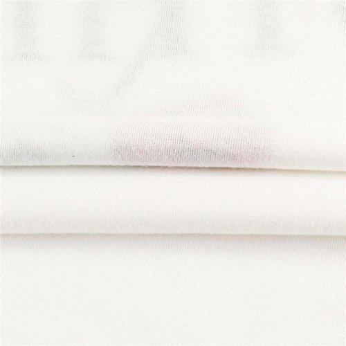 Estiva Shirt Maglietta Nulla Cime Corta Eleganti estive Tumblr Maniche Manica Rosa Manica Shirt Stampa Sciolto Ragazza Corta Donna T Bianca T Corta Donna Camicia Maglietta beautyjourney 7TUv6