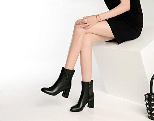 cortas oras Mujer Martin Chunky Se Zapatos Botas Nuevo 8HxWwX