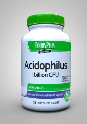 Windmill Acidophilus Pro-biotic Blend Withpectin Caplets 60 Ea