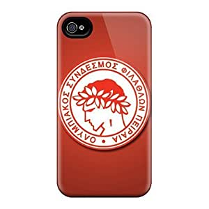 Rosesea Custom Personalized Fashion Cases For Iphone 6- Olympiakos Pireus Fc Defender Cases Covers