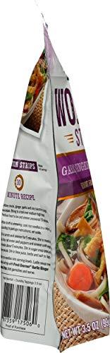 Fresh Gourmet Wonton Strip, Garlic Ginger, 3.5 oz