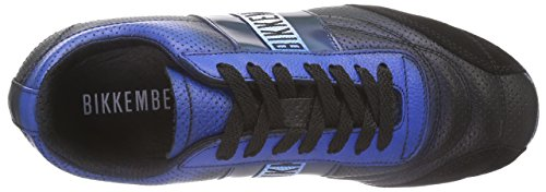 Bikkembergs 641024 Unisex-Erwachsene Sneakers Schwarz (Schwarz/Blau)