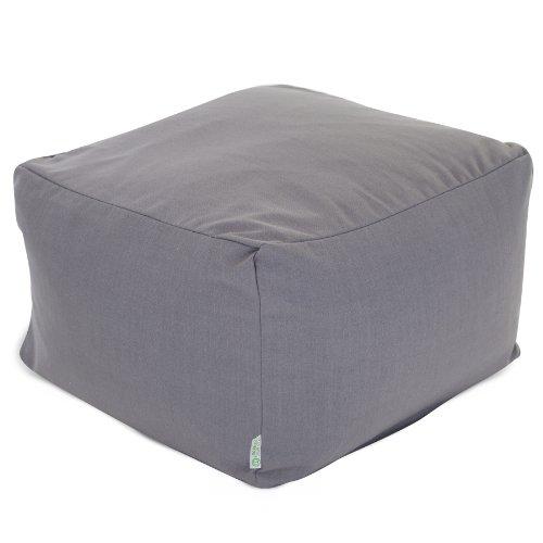pouf bean civ round size bag blue large ottoman of chair ottomans fuzzy sofa insert