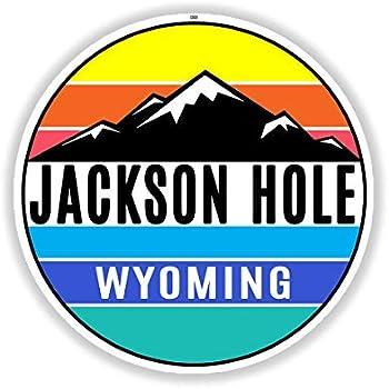 "Mountain Tourist Trail Camping Car Bumper Window Sticker Decal 3/""X5/"""