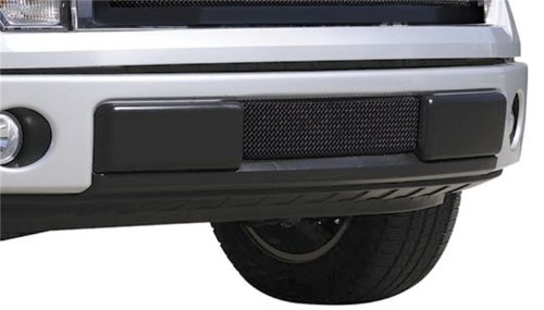 TRex Grilles 52569 Upper Class Small Formed Mesh Steel Black Finish Bumper Grille Bolt-on for Ford (T-rex Bumper Grille)