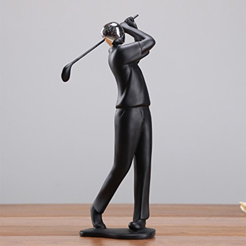 Sport Collectibles Sculpture Golf Player Home Decor Cast Ornament Artwork Golfer Gift (Golfer)