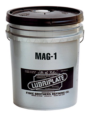 Lubriplate L0189-035 MAG-1 Off-White ISO-9001 Registered Quality System, ISO-21469 Compliant 23 cSt Grease, 35 lb (Pack of 35) by Lubriplate