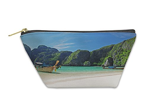 Phi Purse Coin (Gear New Accessory Zipper Pouch, Tropical Beach On Koh Phi Phi Island Thailand, Small, 5890387GN)