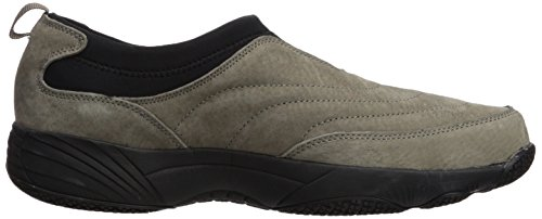 Propét Mens Wash N Wear Slip On Ii Walking Shoe Sr Gunsmoke / Nero